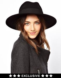 Image 1 of Catarzi Exclusive To ASOS Classic Fedora Hat