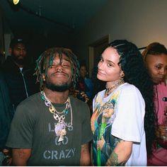 Kehlani x Lil Uzi Vert Trap, Divas, Kehlani Parrish, Mode Hip Hop, Rap Wallpaper, Lil Yachty, Lil Uzi Vert, Lil Pump, Aesthetic Photo
