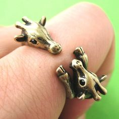 Mom and Baby Giraffe Animal Hug Wrap Ring in Bronze - Sizes 5 to 9 sold by DOTOLY Animal Jewelry. Shop more products from DOTOLY Animal Jewelry on Storenvy, the home of independent small businesses all over the world. Baby Pictures, Cute Pictures, Giraffe Ring, Mother And Baby Animals, Animal Hugs, Super Cute Animals, Animal Jewelry, Mom And Baby, Rings For Men