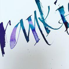 Kirsten burke calligraphy