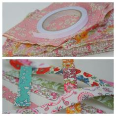 Diy fabric tape liberty fabric