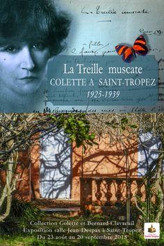 La Treille muscate, Colette à Saint-Tropez (1925-1939)   Actualités   Site officiel de la ville de Saint-Tropez