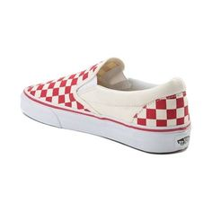 a928d2534f Slip into the timeless skate style of the Slip On Chex Skate Shoe from Vans.