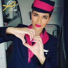 【ギリシャ】スカイ・エクスプレス 客室乗務員 / Sky Express cabin crew【Greece】 Cabin Crew, Pilot, Captain Hat, Europe, Beautiful, Breakfast At Tiffany's Movie, Movies, Pilots, Remote