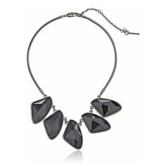 Kenneth Cole Black 5 Beaded Necklace - NWT  Brand new, never worn, no damage. 16 inches + 3 inch extender.    Smoke-free, pet-free household.    No trades/swaps!   No holds!   No low-balling!   No PayPal!   ✔ Reasonable offers welcomed! Please use the offer button so I know you are serious about the item! I will not respond to price negotiations via comments.  ✔ I love bundling! Not only will you get ONE shipping fee, I will also discount your combined total! Please ask me in the comments…