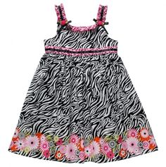 Infant Zebra Print Dress