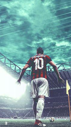 Hakan Calhanoglu #football #art #milan