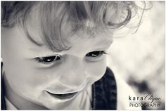 Black & White / Children Photography - What are little boys made of...