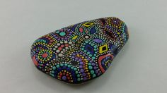 Painted Stone/Painted Rock/Decorative by ChristineSalvaArt on Etsy