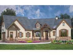 European Plan with 2619 Square Feet and 3 Bedrooms from Dream Home Source | House Plan Code DHSW077781