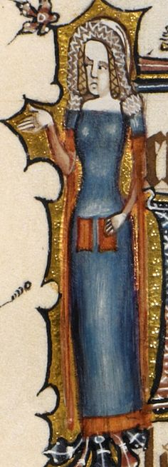 Detail Egerton MS 3277 Date 2nd half of 14th century  Title Psalter and Hours (the 'Bohun Psalter') f.117r