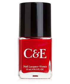 Crabtree & Evelyn nail polish in apple