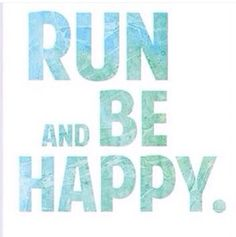 National running day! I'm heading out for a run ya'all!