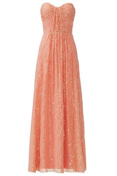 Rent Coconut Rum Twist Gown by ERIN erin fetherston for $70 only at Rent the Runway.
