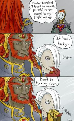 Don't Be Rude by Z-Raid on deviantART Zant is so happy though.