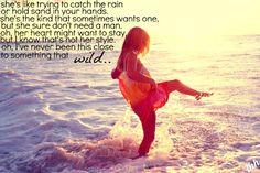 """""""Something That Wild"""" -Chris Cagle"""