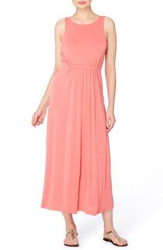Main Image - Catherine Catherine Malandrino Lida Scoop Back Jersey Maxi Dress