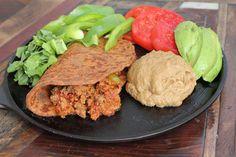 "paleo refried ""beans"" using eggplant or zucchini Maria Mind Body Health | weight loss, diabetic, paleo recipe, gluten free recipes,"