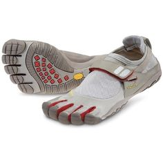 Vibram Fivefingers TrekSport - I recently bought these shoes and they are the MOST comfortable things I've ever put on my feet! They also help build the supporting muscles in your feet and legs, while improving balance and posture. $97.00
