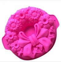 Wish | Bowknot pan silicone cake mould DIY baking tools