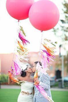 tassel balloons!