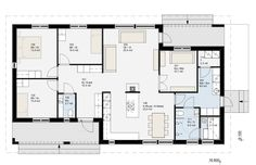 Future House, House Plans, Floor Plans, Layout, Construction, House Design, Flooring, How To Plan, Sims