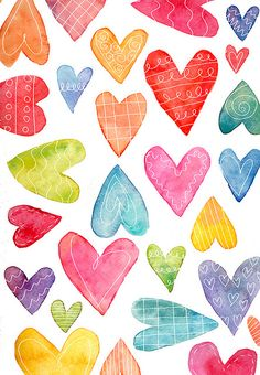 Super Wallpaper Ideas for Valentine's Day - Page 141 of 200 - CoCohots Cute Backgrounds, Cute Wallpapers, Wallpaper Backgrounds, Iphone Wallpaper, Heart Wallpaper, Watercolor Card, Decoupage, Pretty Patterns, Beautiful Patterns