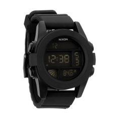 Nixon Mens Watch The Unit Black, $129.95   www.findbuy.co/store/hansen-surfboards-inc