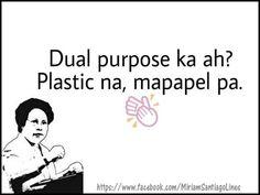 Tagalog Quotes Patama, Tagalog Quotes Hugot Funny, Memes Tagalog, Hugot Quotes, Filipino Funny, Filipino Quotes, Pinoy Quotes, Tagalog Love Quotes, Hugot Lines Tagalog Love