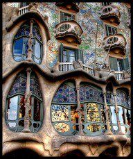 Loved all the Antoni Gaudi architecture in Barcelona!!!!  My favorite part of visiting there!