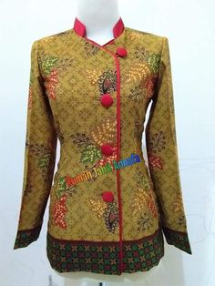 Frock Fashion, Batik Fashion, Blouse Batik, Batik Dress, African Dresses For Women, African Fashion Dresses, Batik Muslim, Mode Batik, Ankara Skirt And Blouse