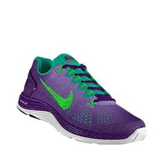 I designed this at NIKEiD purple green nike