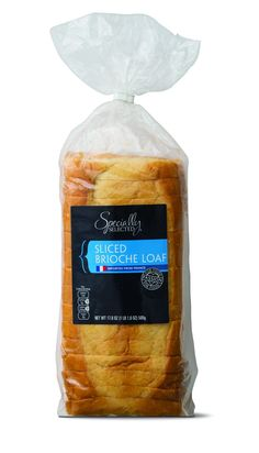 What To Buy At Aldi - Best Food Drink Deals  I just lost an entire hour of my day to dreaming about French toast made from this sliced brioche loaf.   Specially Selected Vanilla Cream Sliced Brioche Loaf, $3.99, available at Aldi.