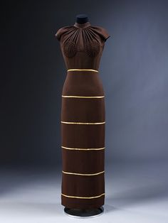 Evening dress   1936 (made)    Schiaparelli, Elsa