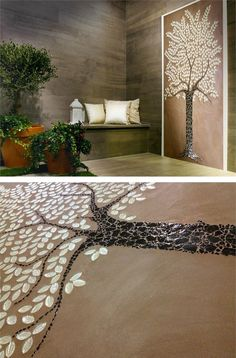 Glass #mosaic OAK by VETROVIVO #tree