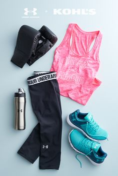 Whether you're in tip-top shape or working on getting back into fighting form, we've got the gear for that. Look for gear that works with your body instead of against it. Capris and tanks that wick sweat keep you comfortable and light on your feet so you can focus on rocking your workout. Get your start with Under Armour, now at Kohl's.