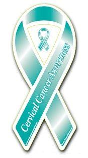 Cervical cancer ribbon awareness