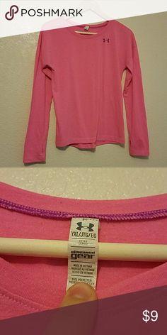 Under armour long sleeve shirt I have a hot pink long sleeve shirt excellent condition Under Armour Shirts & Tops Tees - Long Sleeve