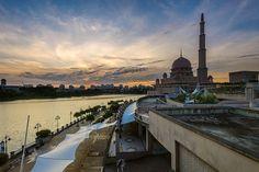 Putra Mosque Sunset | Putrajaya