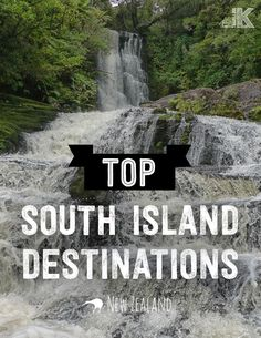 Top South Island Destinations in New Zealand Visit New Zealand, New Zealand Travel, Bay Of Islands, New Zealand Houses, Milford Sound, Top Destinations, South Island, Adventure Awaits, Australia Travel
