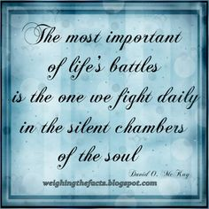 life battle week quotes