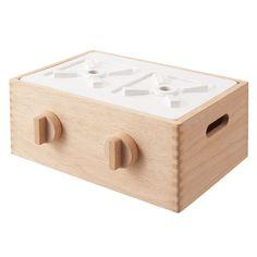Muji wooden kitchen / あそんでしまえる ガスレンジ型ボックス 対象年齢3歳以上 | 無印良品ネットストア
