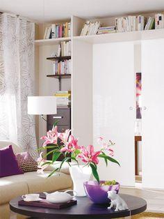 kleine wohnung einrichten: intelligente wände | einrichtung, Innenarchitektur ideen