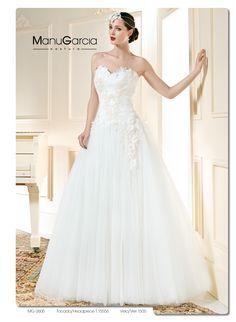 Para nuestro vestido de la semana hemos elegido este impresionante palabra de honor #Vestidodelasemana