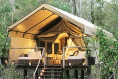 Glamping it up in this tent.see more about this glamping location! Camping never looked so good! Outdoor Fun, Outdoor Spaces, Outdoor Living, Tent Living, Outdoor Lounge, Outdoor Theater, Outdoor Retreat, Backyard Retreat, Outdoor Entertaining
