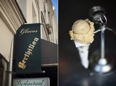 Berthillon , Paris on the Île Saint-Louis. World famous ice cream of Paris Famous Ice Cream, Best Ice Cream, Eat You Out, A Moveable Feast, Ice Cream Social, I Scream, Specialty Foods, Restaurant, World Famous