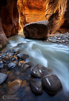 ✯ Light of the Narrows, Zion National Park, Utah
