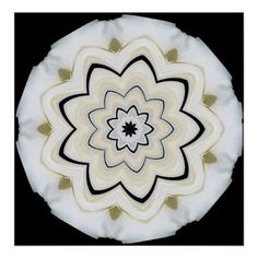 9 Pointed Star Poster   Floral Style Flower Flowers Stylish Diy Personalize