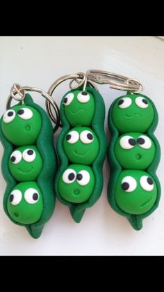 HAP-PEAS KEYRING - The Supermums Craft Fair