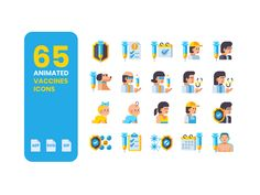 Get your hands on the 100% Free 65 #AnimatedVaccineIcons. Created with love to help spread #awareness about the importance of #vaccines, especially during #COVID19. Spread the word and boost your designs! Animated Icons, 100 Free, Icon Set, You Got This, Your Design, Animation, Hands, Image, Its Ok